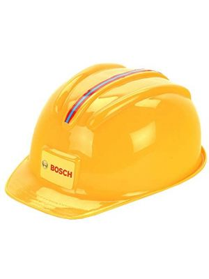 Casco da lavoro Bosch, Il casco giocattolo con look da artigiano Theo Klein 8127